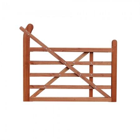 Hardwood gate fitting by fixmyfence