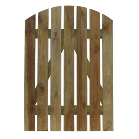 Palisade gate fitting by fixmyfence